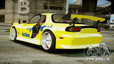 Mazda RX-7 FD3S BN Sports für GTA 4 linke Ansicht