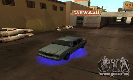 Cleo Néon pour GTA San Andreas quatrième écran