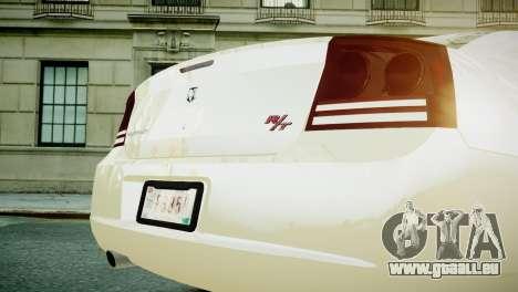 Dodge Charger RT 2006 pour GTA 4 est un droit