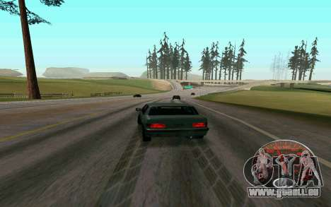 Tacho Lada für GTA San Andreas zweiten Screenshot