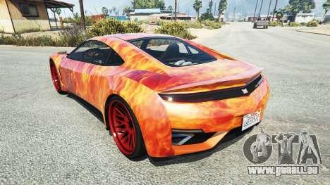 Dinka Jester (Racecar) Flame für GTA 5