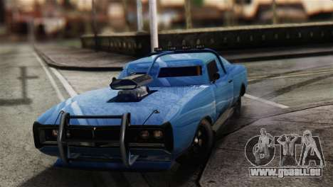 GTA 5 Imponte Dukes ODeath für GTA San Andreas Rückansicht