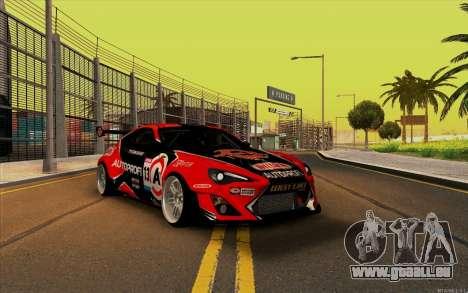 Toyota GT86 ZeroZver pour GTA San Andreas