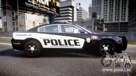 Dodge Charger Alderney Police pour GTA 4 est une gauche