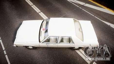 Ford LTD Crown Victoria 1987 Detective [ELS] v2 pour GTA 4 est un droit