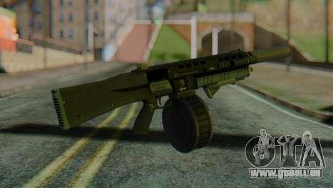 Assault Shotgun GTA 5 v2 pour GTA San Andreas deuxième écran