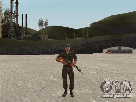 L'airborne soldat de l'Ukraine pour GTA San Andreas
