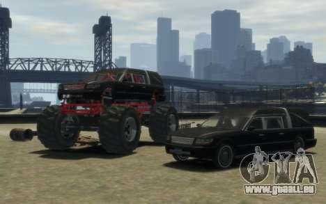 Albany Undertaker (Romero Monster) pour GTA 4 Vue arrière