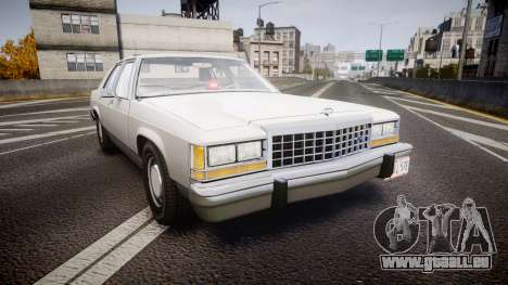 Ford LTD Crown Victoria 1987 Detective [ELS] v2 pour GTA 4