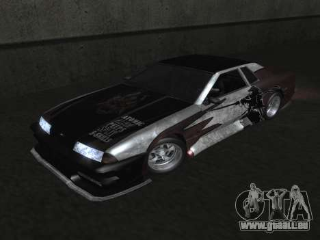 Elegy Paintjobs pour GTA San Andreas vue de côté