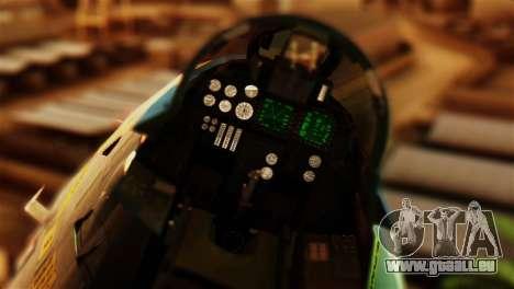 F-14D VF-213 Black Lions für GTA San Andreas Rückansicht