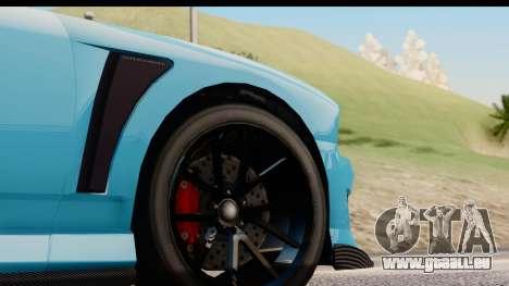 GTA 5 Bravado Buffalo S Sprunk IVF für GTA San Andreas Rückansicht