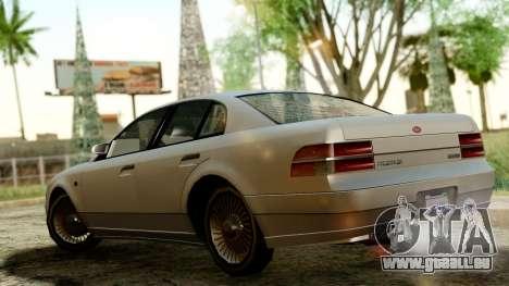 GTA 4 Intruder pour GTA San Andreas sur la vue arrière gauche