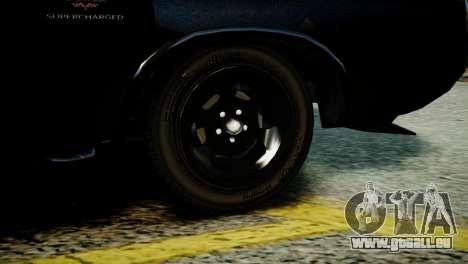 Imponte Dukes O Death from GTA 5 pour GTA 4 Vue arrière de la gauche