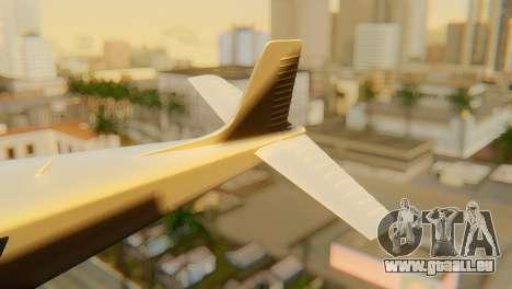 GTA 5 Dodo v1 für GTA San Andreas zurück linke Ansicht