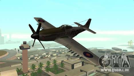 P-51D Mustang für GTA San Andreas