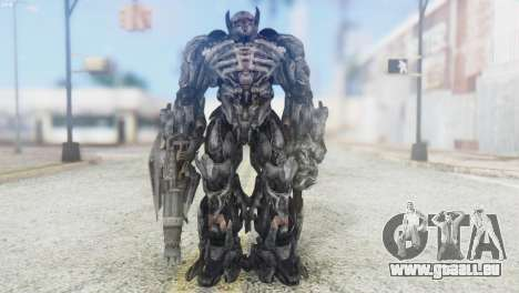 Shockwave Skin from Transformers v2 pour GTA San Andreas deuxième écran