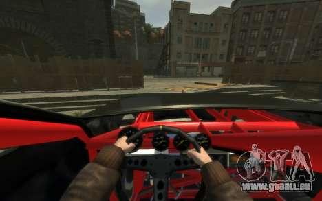 Albany Undertaker (Romero Monster) pour GTA 4 Vue arrière de la gauche