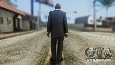 Strpreach Skin from GTA 5 pour GTA San Andreas deuxième écran