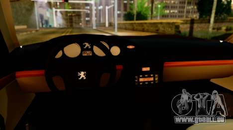Peugeot 406 für GTA San Andreas Rückansicht