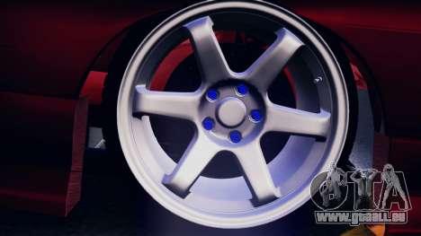 Nissan 180SX pour GTA San Andreas vue intérieure
