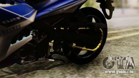 Yamaha MX KING 150 für GTA San Andreas Rückansicht