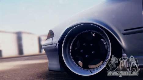 Toyota Mark 2 100 pour GTA San Andreas vue arrière