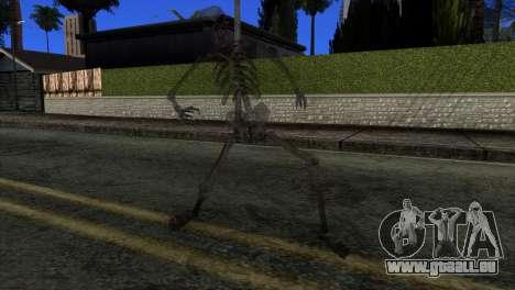 Skeleton Skin v3 für GTA San Andreas