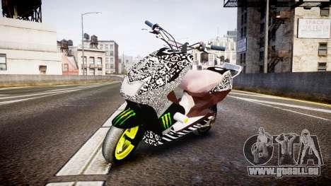 Yamaha Aerox Stunt für GTA 4