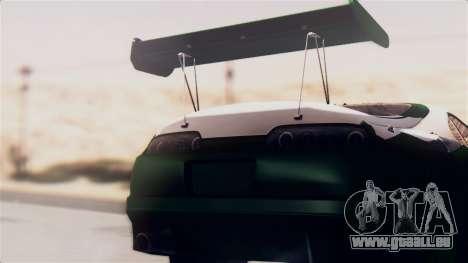 Toyota Supra pour GTA San Andreas vue de droite
