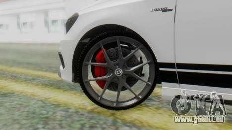 Mercedes-Benz A45 AMG pour GTA San Andreas sur la vue arrière gauche
