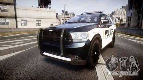 Dodge Durango Alderney Police pour GTA 4