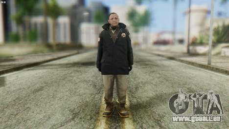 Snowcop Skin from GTA 5 pour GTA San Andreas