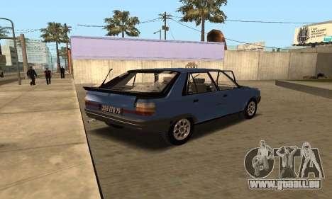 Renault 11 TXE Taxi pour GTA San Andreas