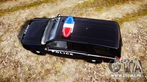 Chevrolet Tahoe SPVQ [ELS] pour GTA 4 est un droit