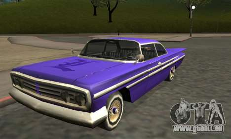 Luni Voodoo Remastered pour GTA San Andreas roue