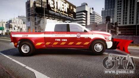 Dodge Ram 3500 2013 Utility [ELS] pour GTA 4 est une gauche