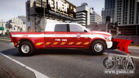 Dodge Ram 3500 2013 Utility [ELS] für GTA 4 linke Ansicht