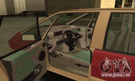 Renault Espace 2000 GTS für GTA San Andreas obere Ansicht