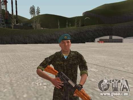 L'airborne soldat de l'Ukraine pour GTA San Andreas deuxième écran