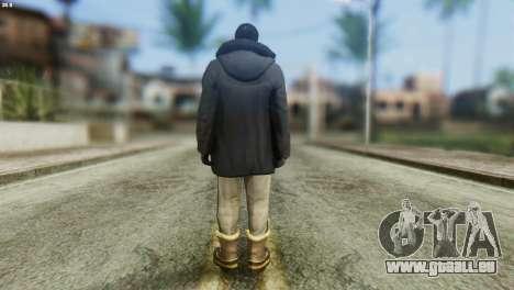 Snowcop Skin from GTA 5 für GTA San Andreas zweiten Screenshot