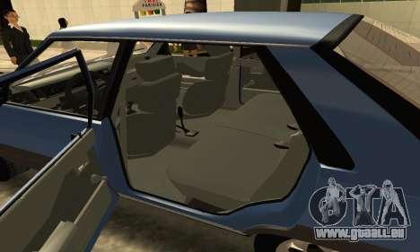 Renault 11 TXE Taxi pour GTA San Andreas vue de dessus