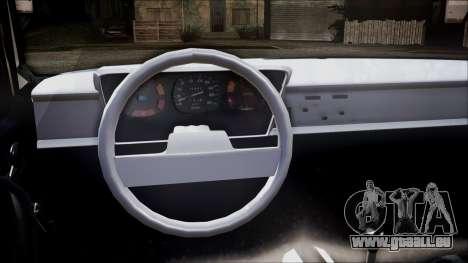 Renault 12 TL pour GTA San Andreas sur la vue arrière gauche