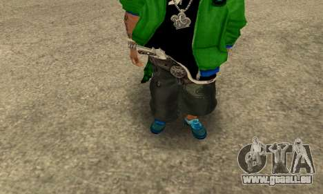 Groove St. Nigga Skin Second für GTA San Andreas zweiten Screenshot