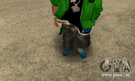 Groove St. Nigga Skin Second pour GTA San Andreas deuxième écran