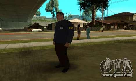 FBI HD pour GTA San Andreas quatrième écran