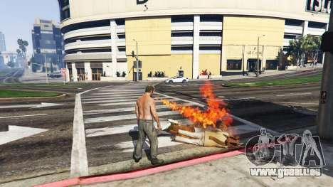GTA 5 Feuer speienden v2.0 dritten Screenshot