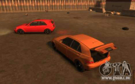 Karin Sultan Hatchback v2 pour GTA 4 vue de dessus