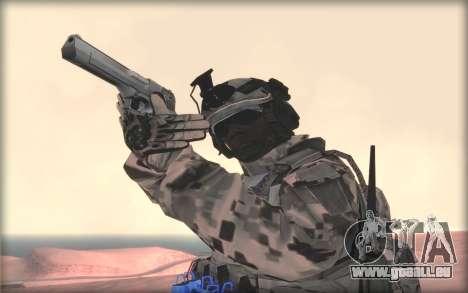 BF3 Soldier pour GTA San Andreas troisième écran