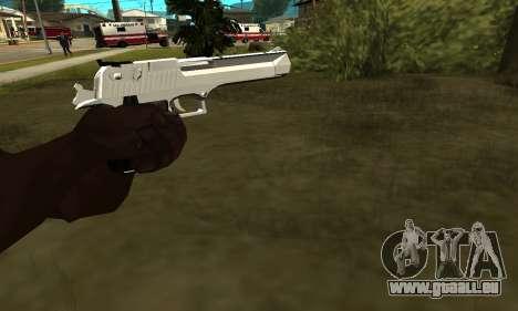 Metalic Deagle für GTA San Andreas zweiten Screenshot
